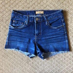 STS Blue Cutoff Denim Jean Shorts - size 5
